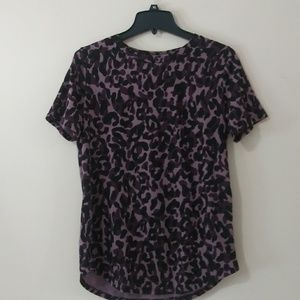 NWT Pink Victoria's Secret Camouflaged Tee